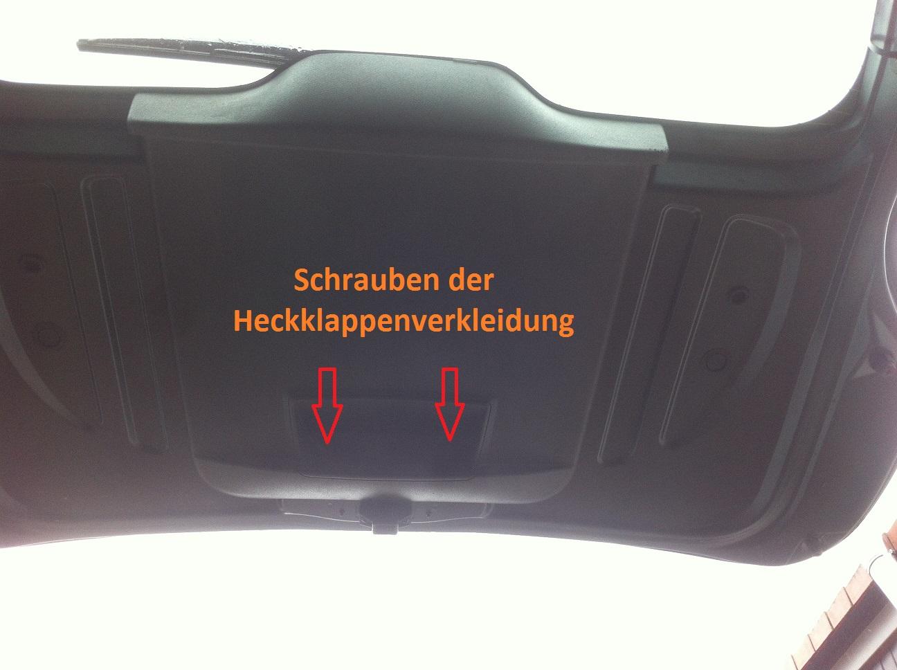 DIY - für Hobbyschrauber am Auto & Motorrad: Rückfahrkamera ...