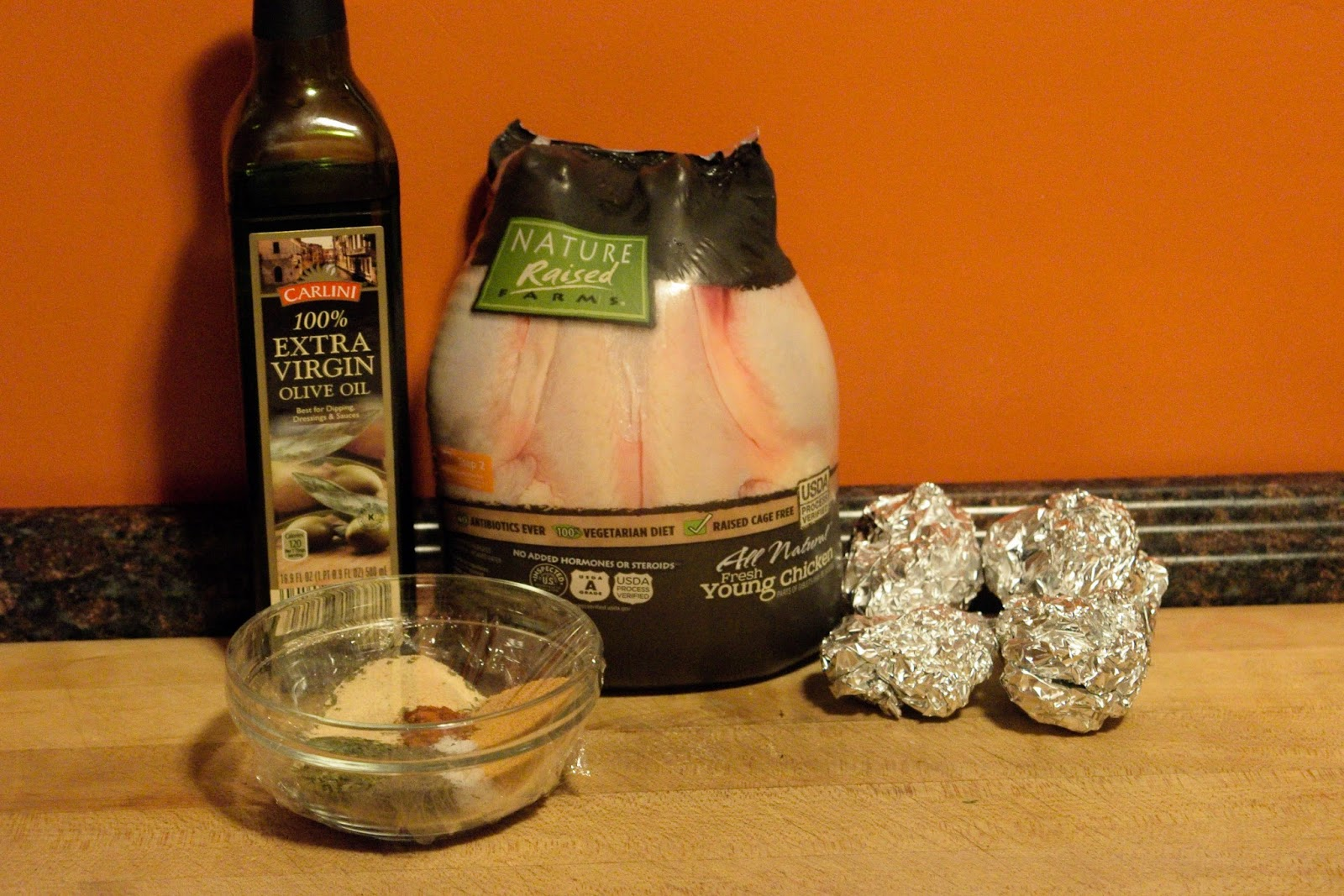 Picture Of The Ingredients Needed To Make The Chicken