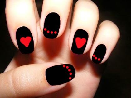 Red Black Nail Polish Designshttpnails Sidespot