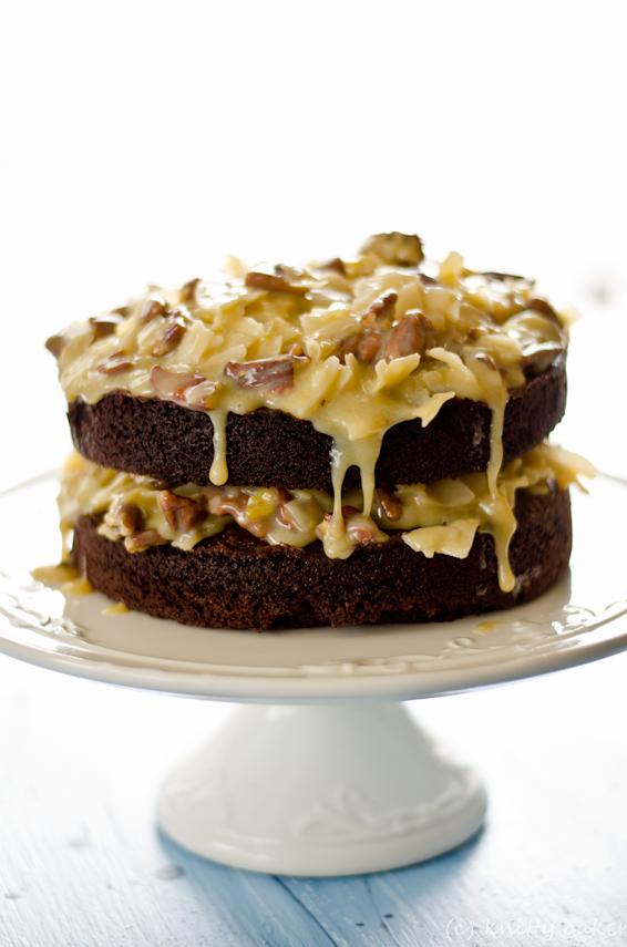 Knitty baker: HCB: German Chocolate Cake