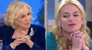 LA NOTICIA DEL DIA: MIRTHA LEGRAND Y ESMERALDA MITRE