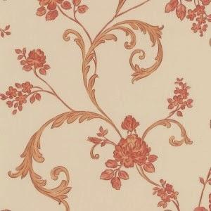 papel pintado high society naranja pintura y madera