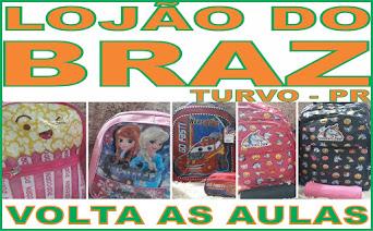 Venha você também para o Lojão do Braz.