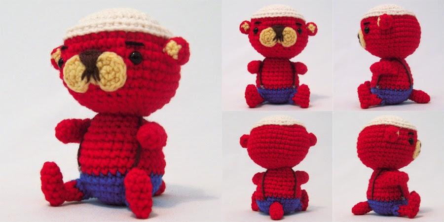 Free Amigurumi Otter Pattern : i crochet things: Free Pattern: Pascal the Otter
