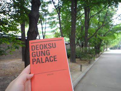 Burning calories at Deoksugung Palace Seoul