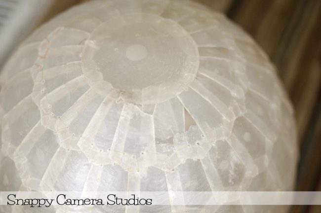 the grand adventures of dom crystal diy capiz shell pendant light