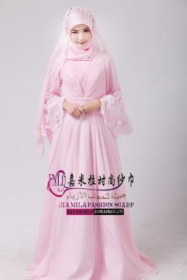 Permalink to Contoh Gaun Pengantin Muslimah Simple Tapi Elegan