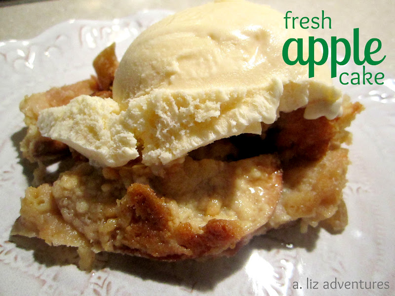 SMIDGE OF THIS: Fresh Apple Cake