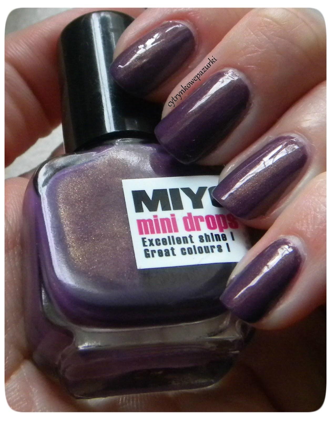 Poniedziałki z Miyo Mini Drops 144 Viola Pasioon