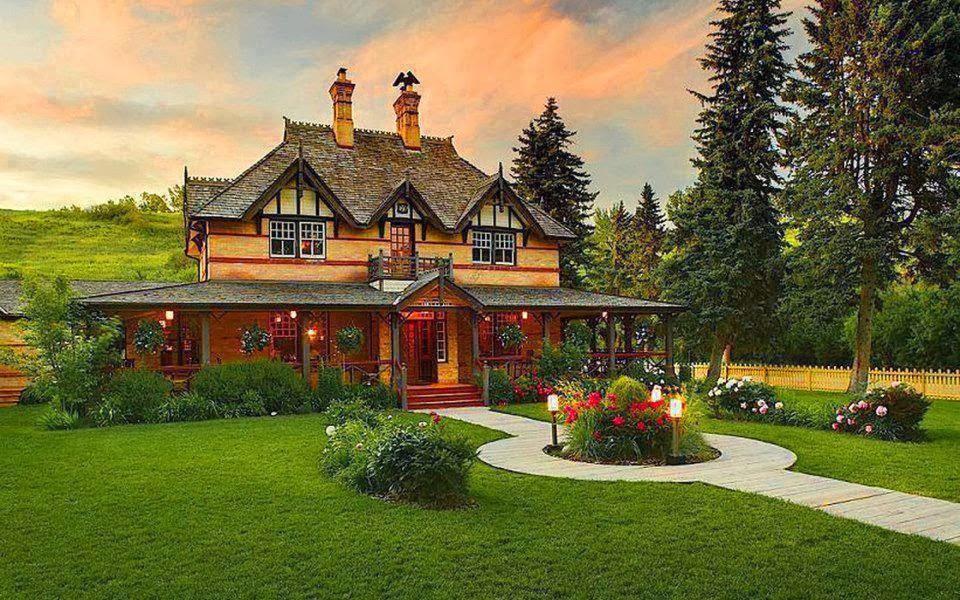 cari os al interior del hogar hermosas casas de campo y