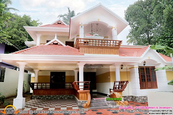 Completed Kerala house