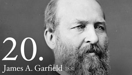 President garfield essays