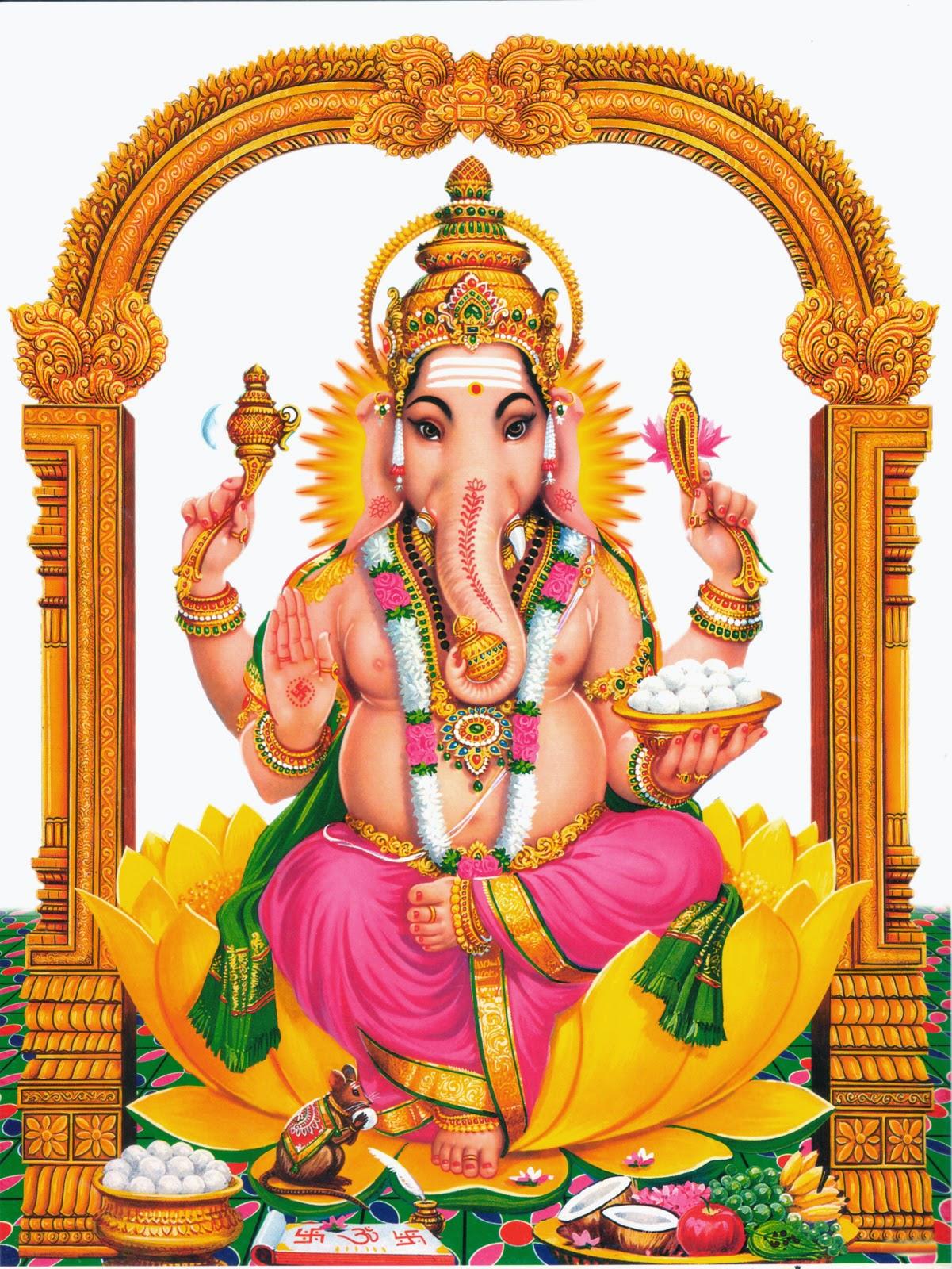 Hd wallpaper vinayagar - Lord Vinyagar Pictures