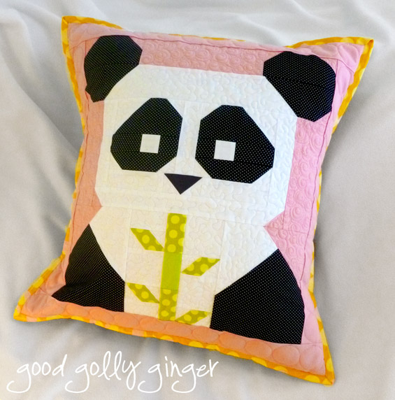 Panda pattern from Fat Quarter Shop