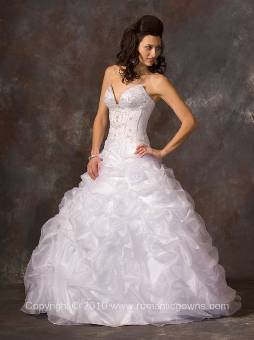 Romantic Bridal Gowns : Wedding fashion romantic gowns magnificent