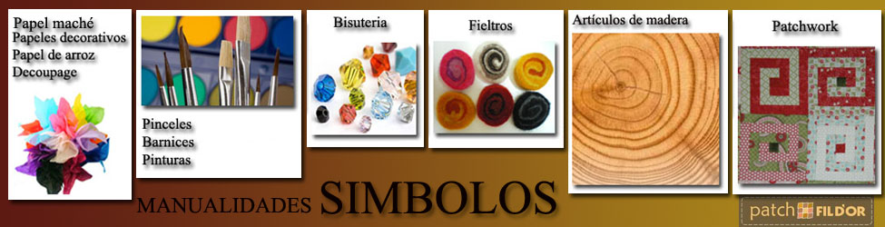 MANUALIDADES SIMBOLOS