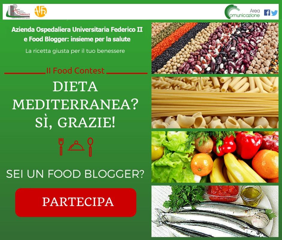 """Ho vinto il contest """"Dieta mediterranea? Si, grazie!"""""""