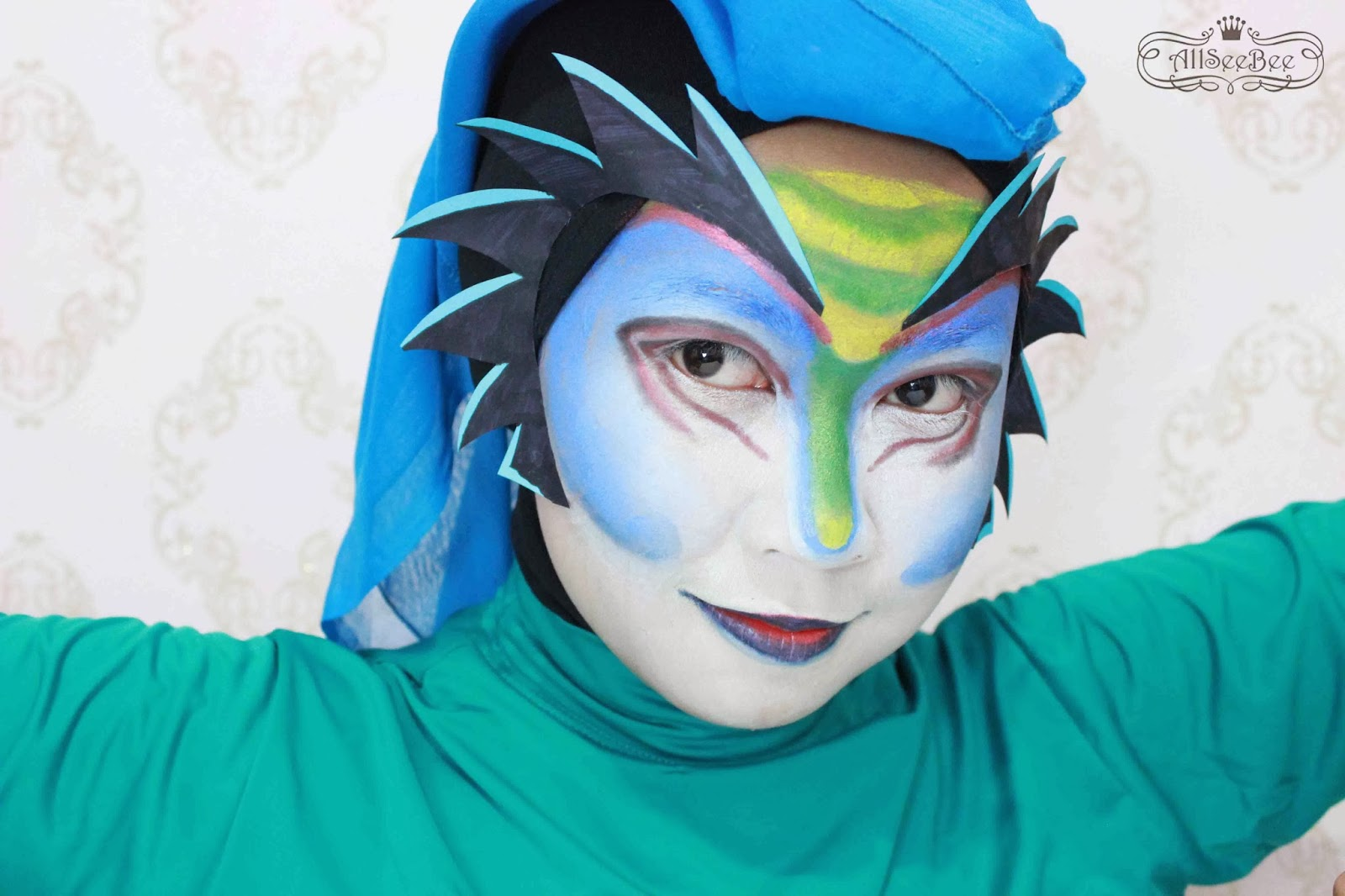 Cirque Du Soleil Mystu00e8re Makeup for Looxperiments 3rd Anniversary ...