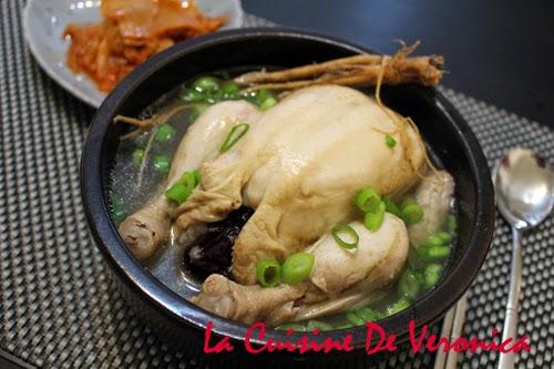 La Cuisine De Veronica 韓式蔘雞湯 Samgyetang
