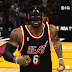 NBA 2K14 LeBron James with Black Protective Mask Mod