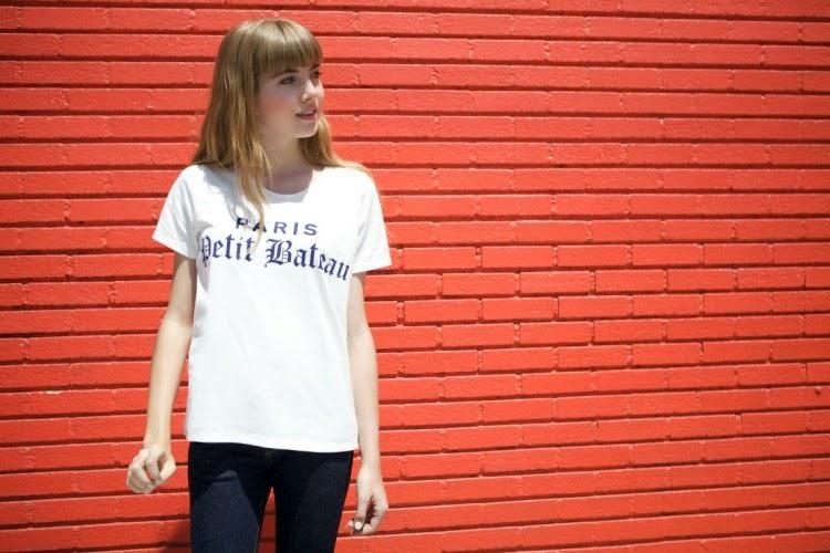 Petit Bateau women's printed t-shirts