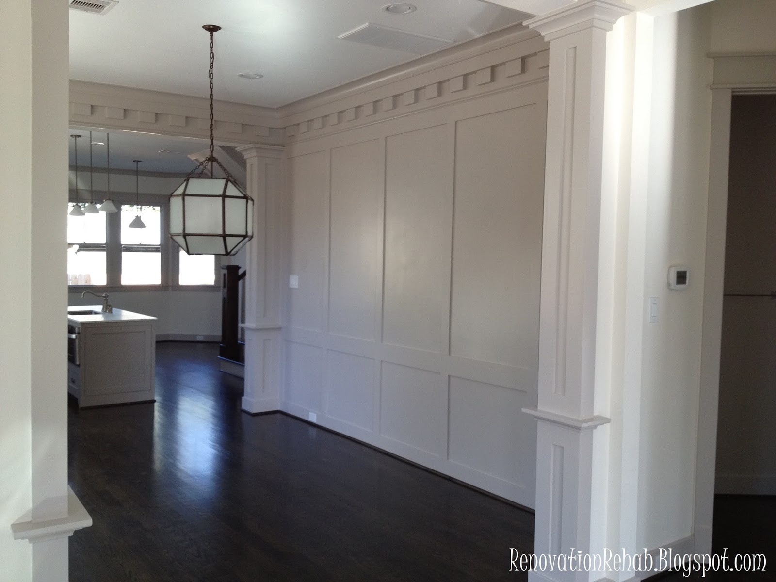 Full Wall Wainscoting Dining Room