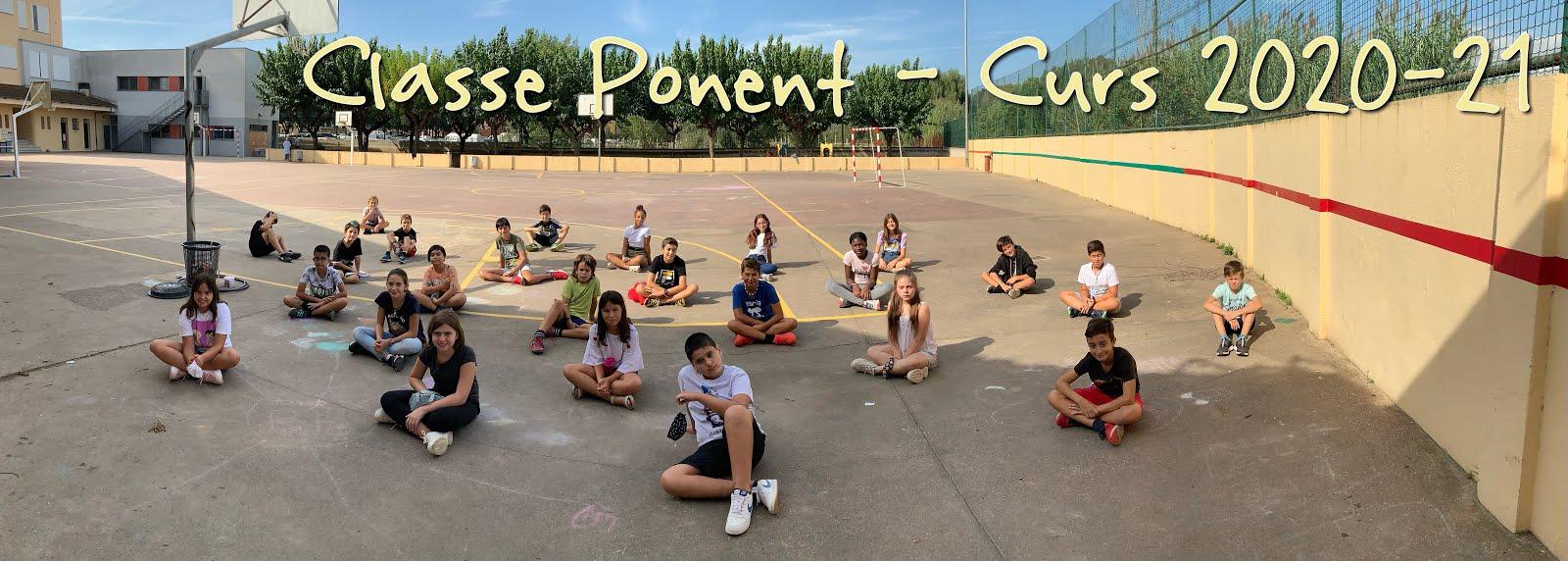 Classe Ponent - 6è