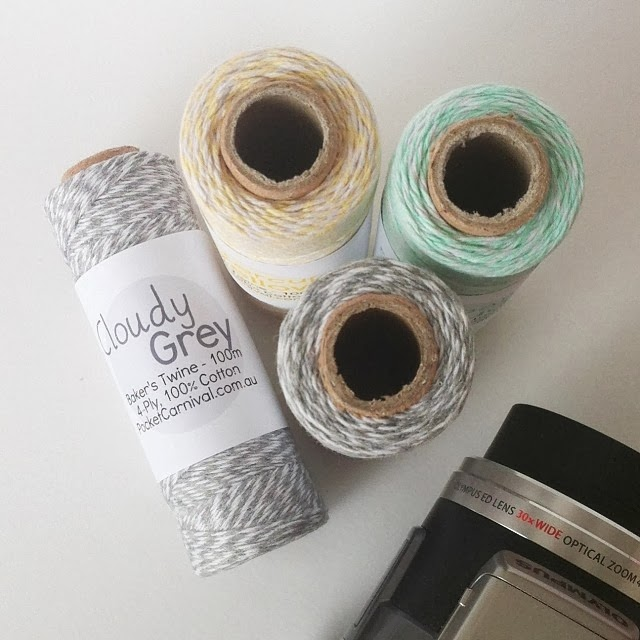 Pastel Cloudy Twine