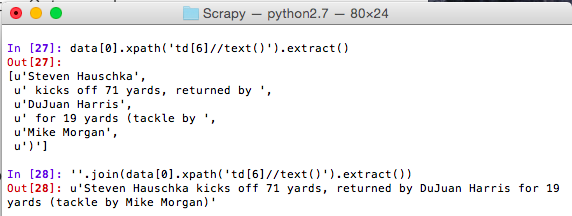 The ITC Prog Blog: Scraping With Scrapy!