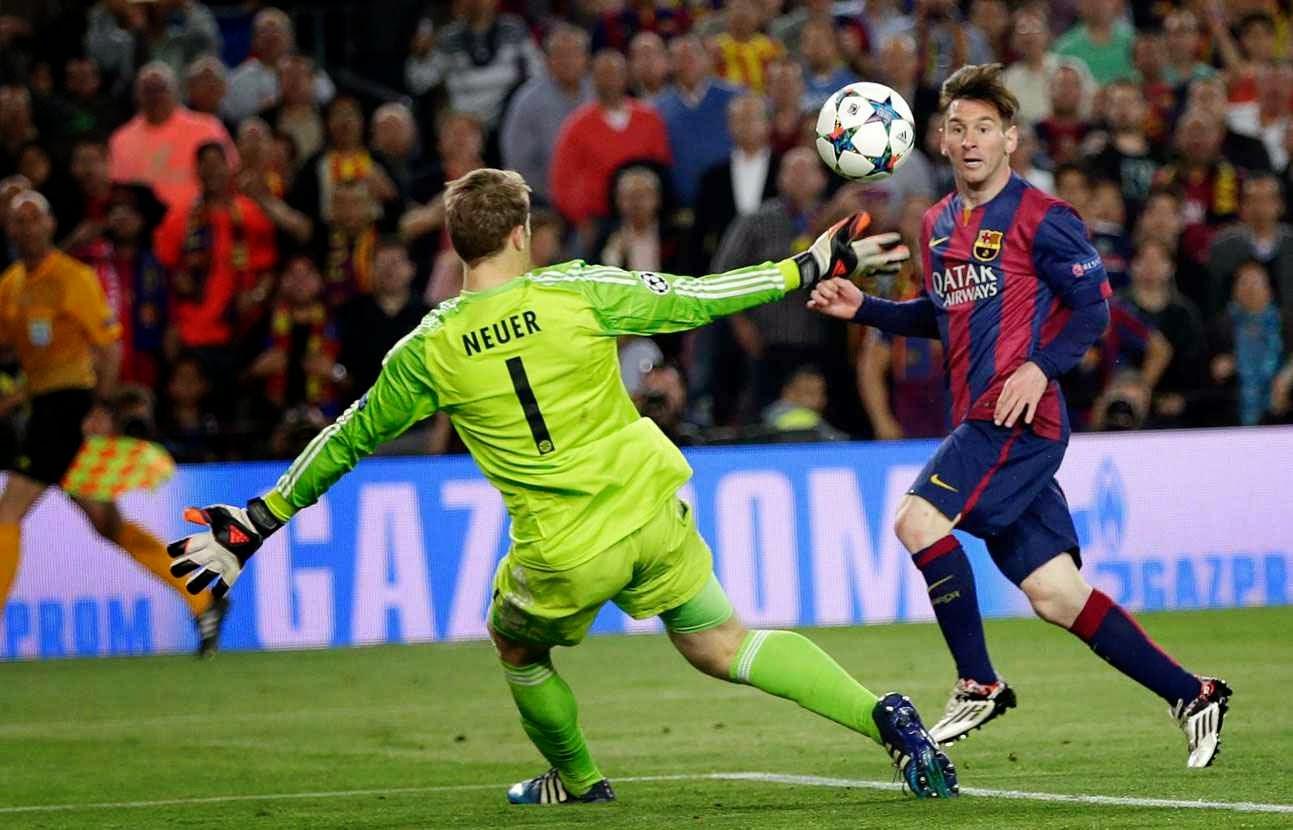 Rencontre barcelone vs bayern