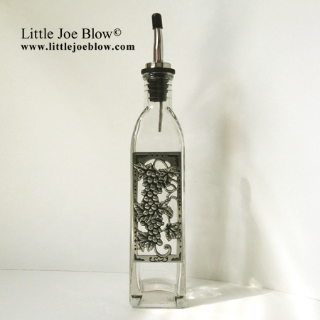 Grapes | Vineyard Oil Bottles - sold on http://littlejoeblow.com/GRAPES-oil-bottles.html by Little Joe Blow Ind. photo 3