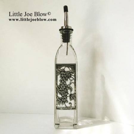 Grapes | Vineyard Oil Bottles - sold on http://littlejoeblow.com/GRAPES-oil-bottles.html by Little Joe Blow Ind. photo 3