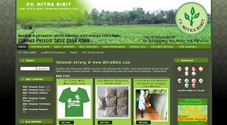 Hijaukan Bumi bersama mitrabibit.com