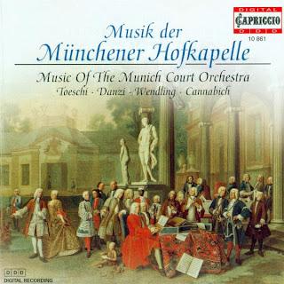 Toeschi, C.J.: Symphony in D Major / Danzi, F.: Piano Concerto in E-Flat Major / Wendling, J.B.: Flute Concerto, Op. 4