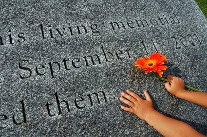 sept 11 memorial stone