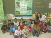 Crianças da EM Hermínia Neves Vitiello