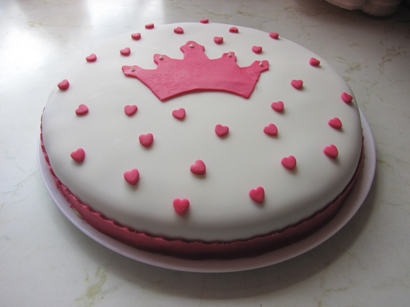 Prinzessin torte dekorieren