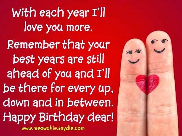 Birthday Wishes Quotes For Lover