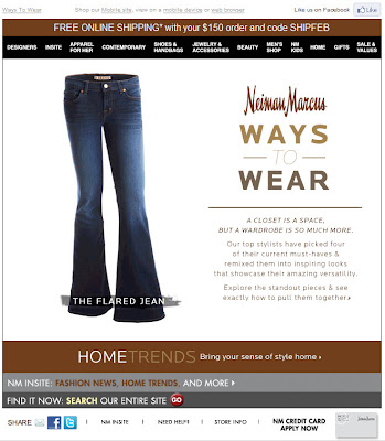 Click to view this Feb. 19, 2011 Neiman Marcus email full-sized