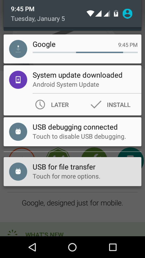 android one january security update