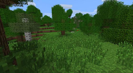 Herbes Hautes Minecraft