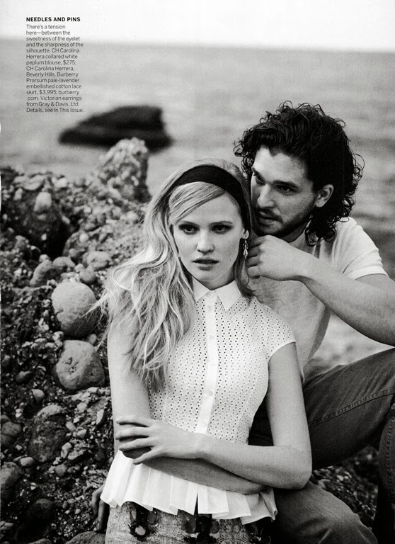 Lara Stone HQ Pictures Vogue US Magazine Photoshoot March 2014