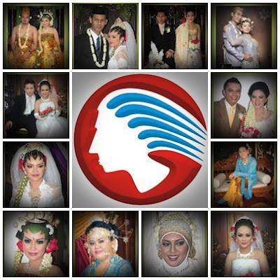 gambar foto pengantin jawa sunda betawi bridal muslimah