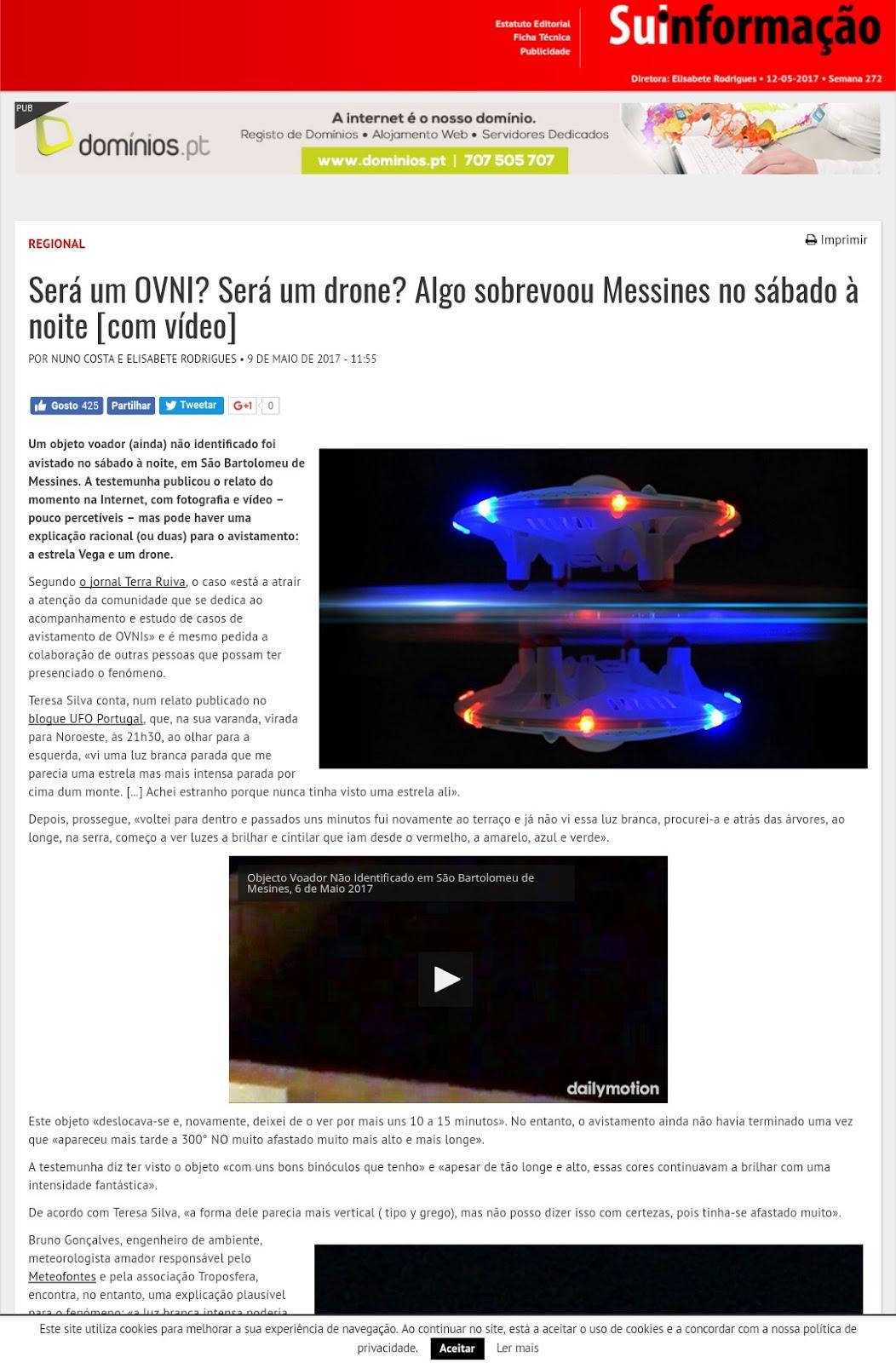 UFO Portugal Network