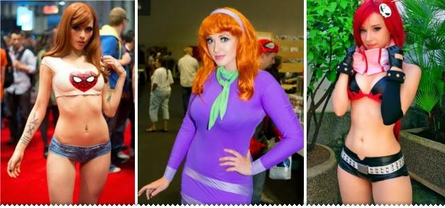 Hipernovas: Ninguém faz cosplay melhor que as mulheres (88 Imagens)