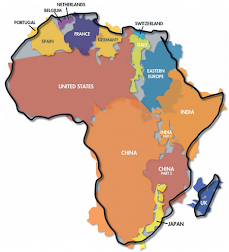 Africa is big (click to see)