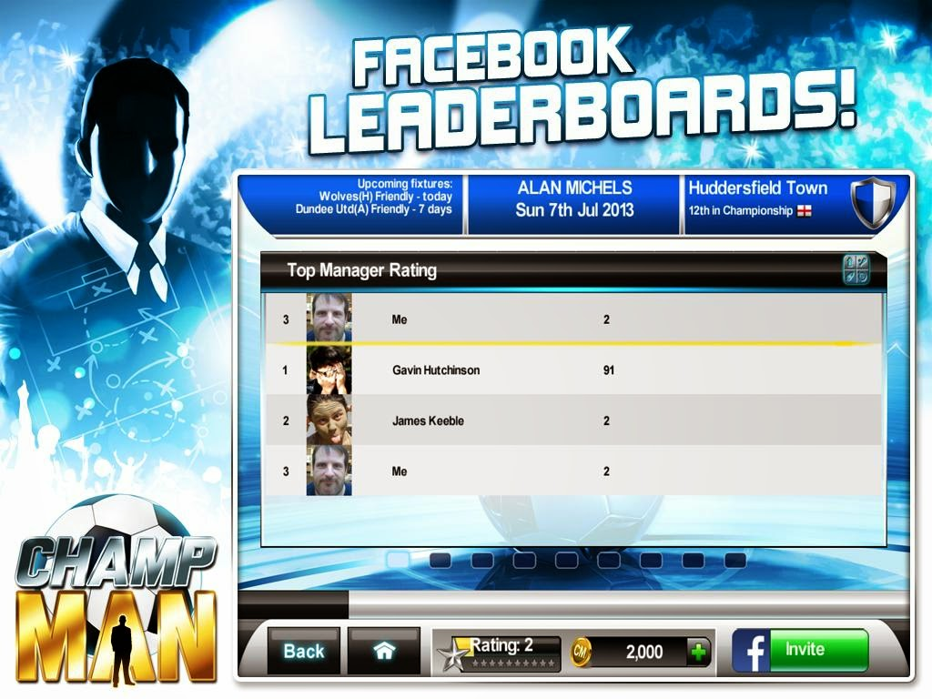 Android Games Champ Man 14 Offline Asik Gratis - 1