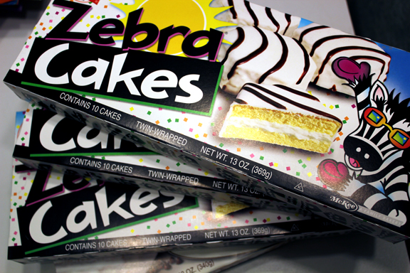 Little Debbie Zebra Cakes Calories