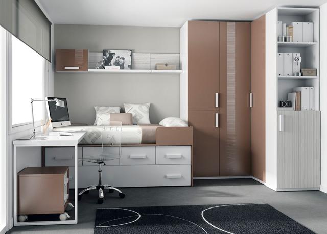 ideas de diseo habitacin baratas en espaa dormitorio juvenil con cama compacto con cama arriba