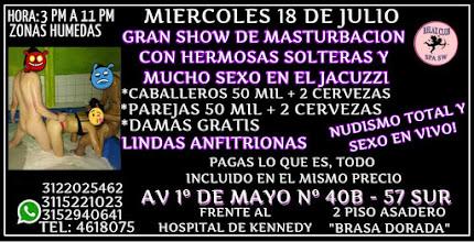 MIERCOLES 18 DE JULIO DE 3 PM A 11 PM RUMBA SW CON LINDAS CHICAS